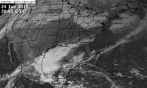 U.S. visible satellite