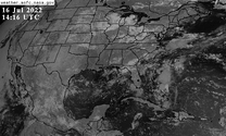 GOES-East CONUS Band 5 Near-IR icon