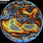GOES-East Full Disk Band 8 Water Vapor icon