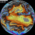 GOES-West Full Disk Band 8 Water Vapor icon